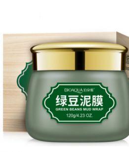 Противовоспалительная очищающая маска «BIOAQUA» с вулканической грязью и зелеными бобами.(0740)