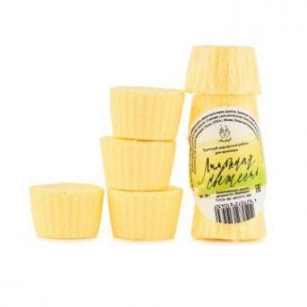 Бомбочки для маникюра Лимонная свежесть 4 шт