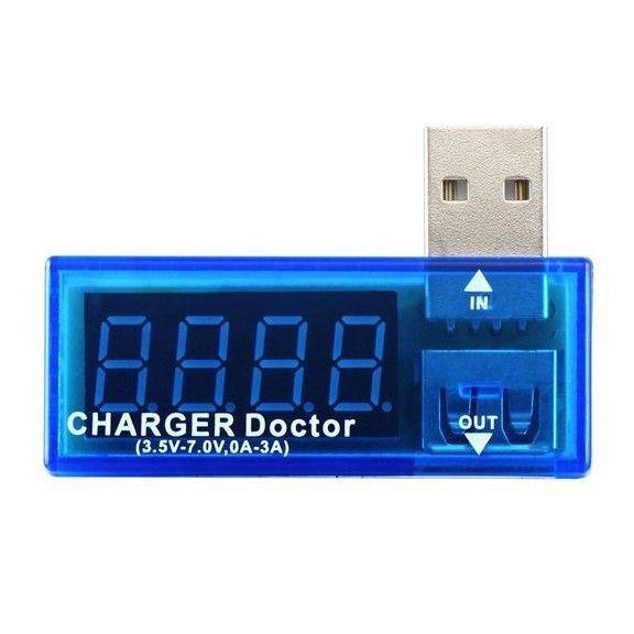 USB тестер - напряжение и сила тока
