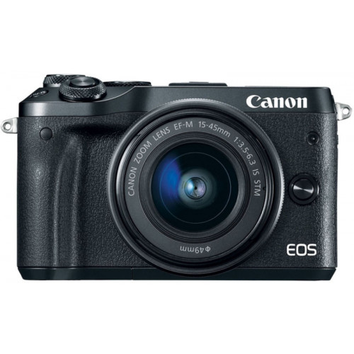 Canon EOS M100 Kit 15-45MM IS STM (BLACK)