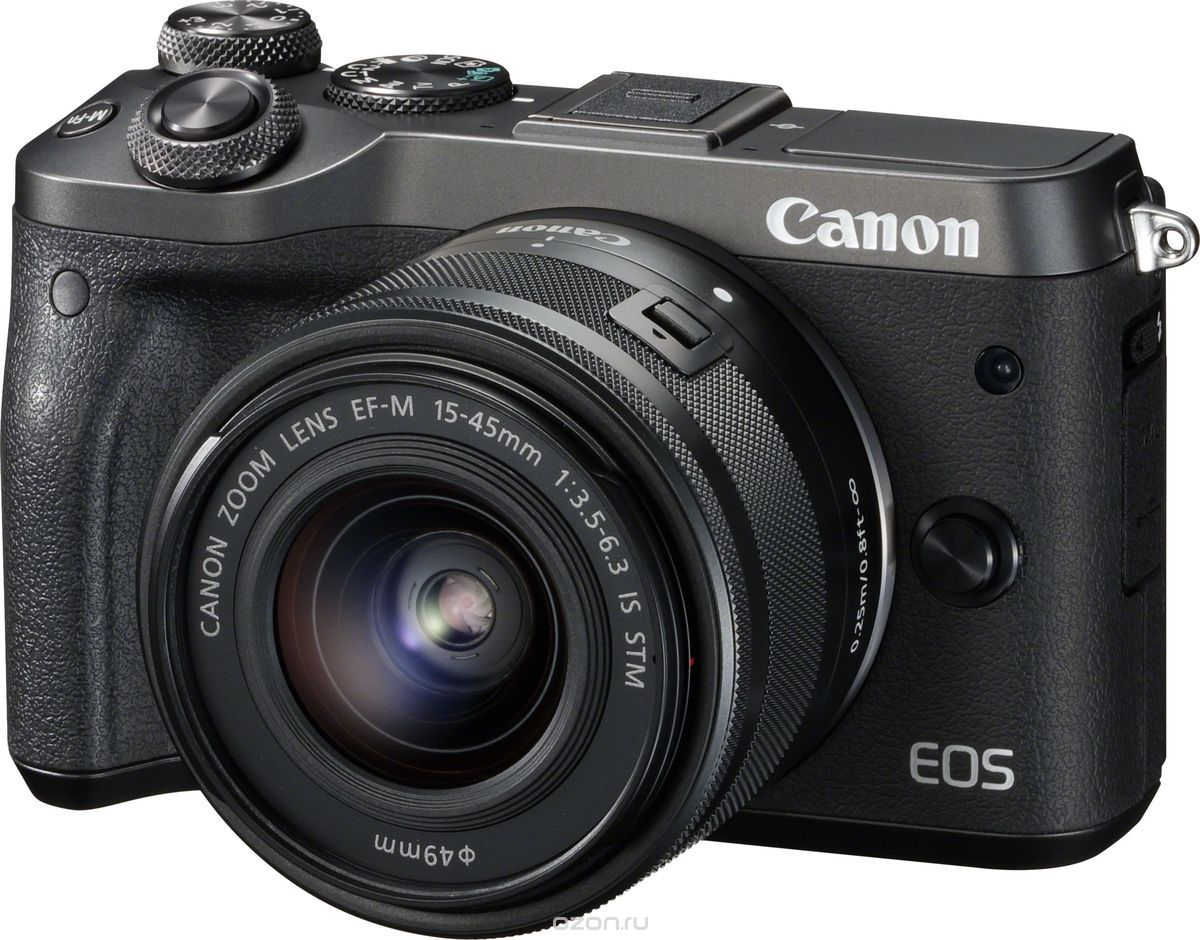 Canon EOS M6 Kit 15-45mm