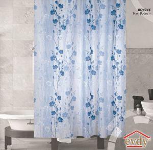 "Шторы ""EVDY"" для ванной DROP 180х200 см 1/1  V1"