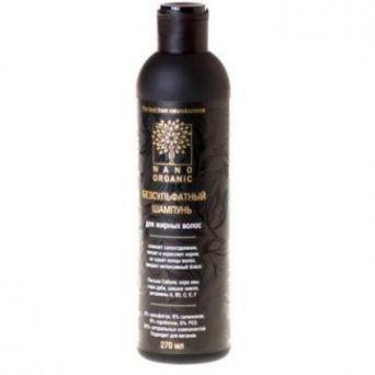 Нано Органик - Шампунь для жирных волос, 270мл