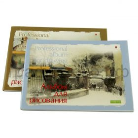Альбом А5 40л.Альт профессионал склейка 160г/м2 1-40-006