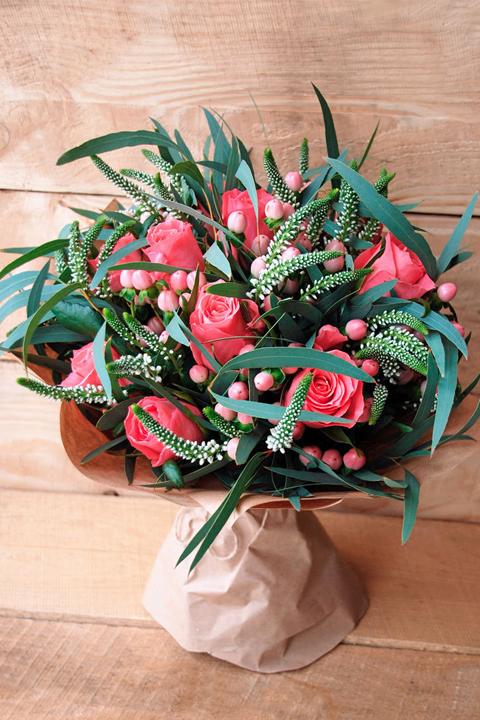 Букет из живых цветов Настроение