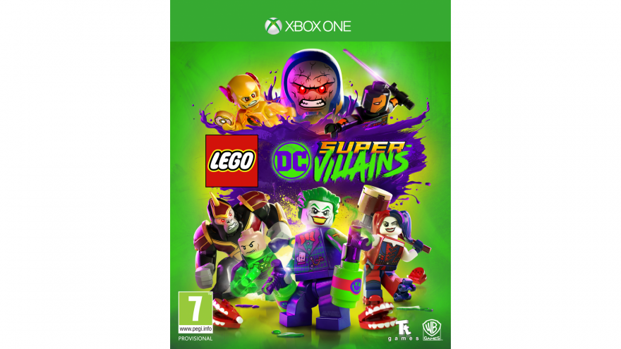 Игра Lego DC Super-Villains (Xbox One)