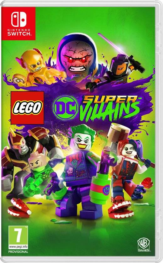 Игра Lego DC Super-Villains (Nintendo Switch)
