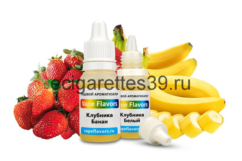 Ароматизатор Vape Flavors Клубника - Банан