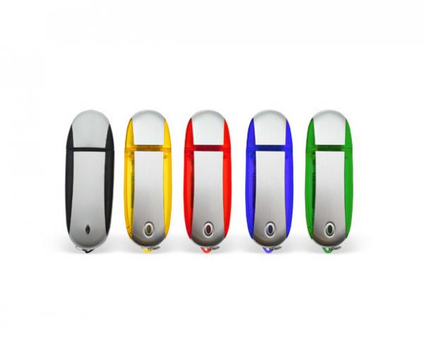 16GB USB-флэш корпус для флешки UsbSouvenir U204, Зеленый  серебро