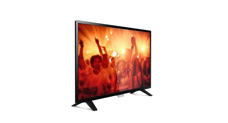 "Телевизор 32"" Philips 32PHT4001: 1366 x 768, 178°/178°, 200кд/м2, DVB-T/T2/C, 16"
