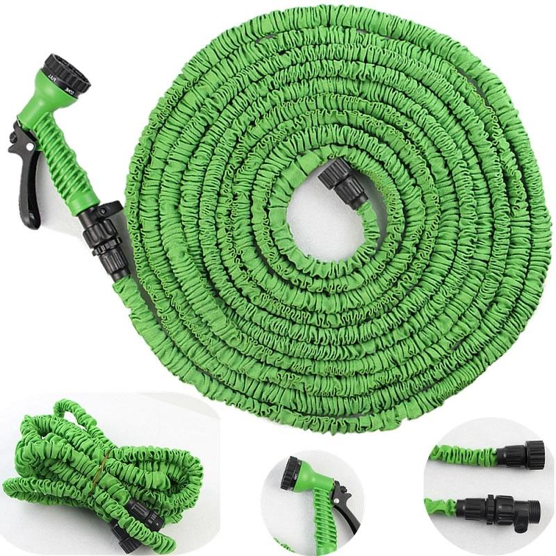 Шланг Водяной Xhose (Икс Хоуз), 60 М, Цвет Зеленый
