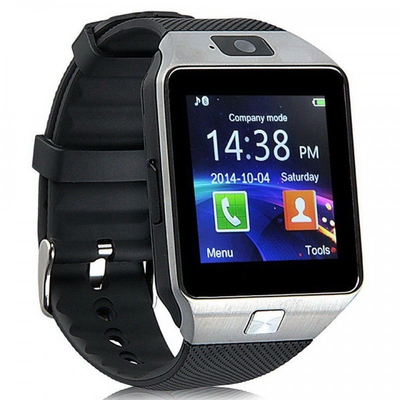Умные Часы Smart Watch DZ09, Цвет Серебристый