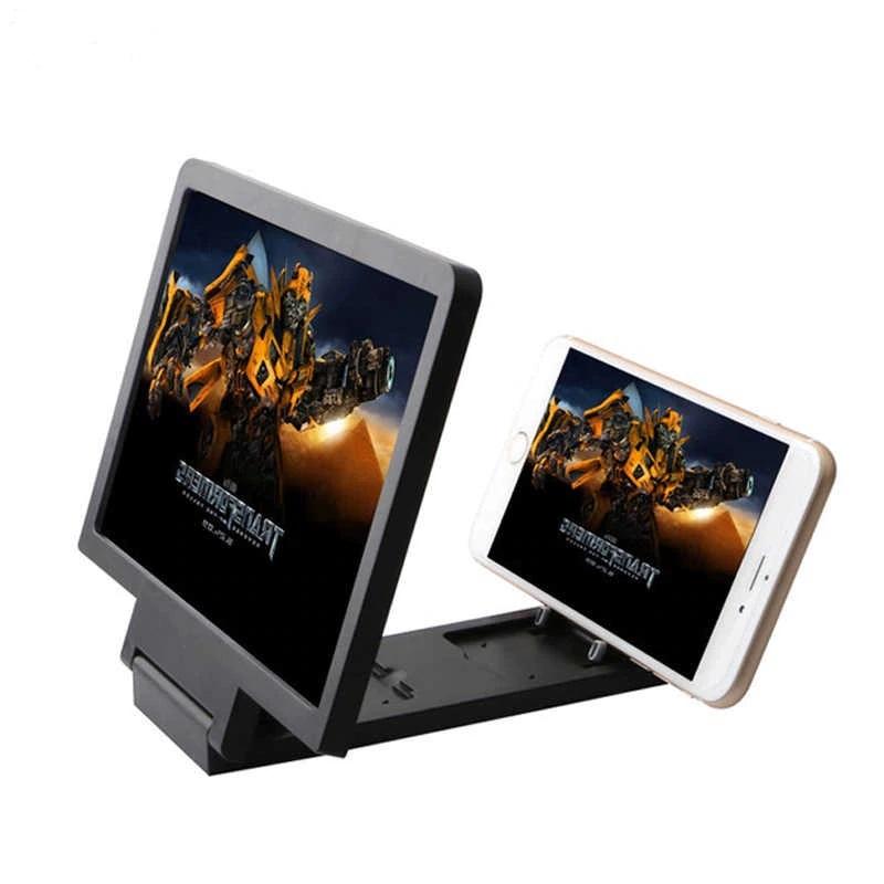 3D Увеличитель Экрана Телефона F1, Цвет Черный