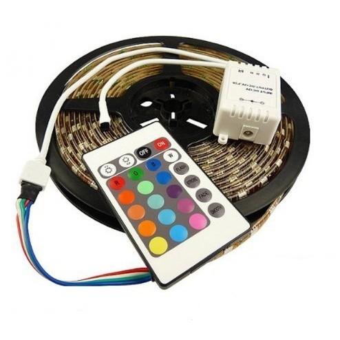 Светодиодная лента RGB с пультом 5 метров