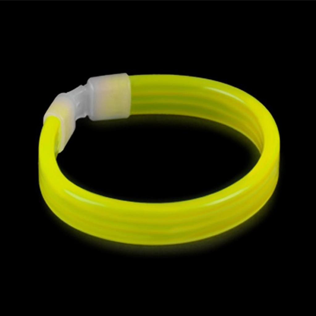 Тройной Широкий Светящийся Браслет Triple Wide Glow Bracelet