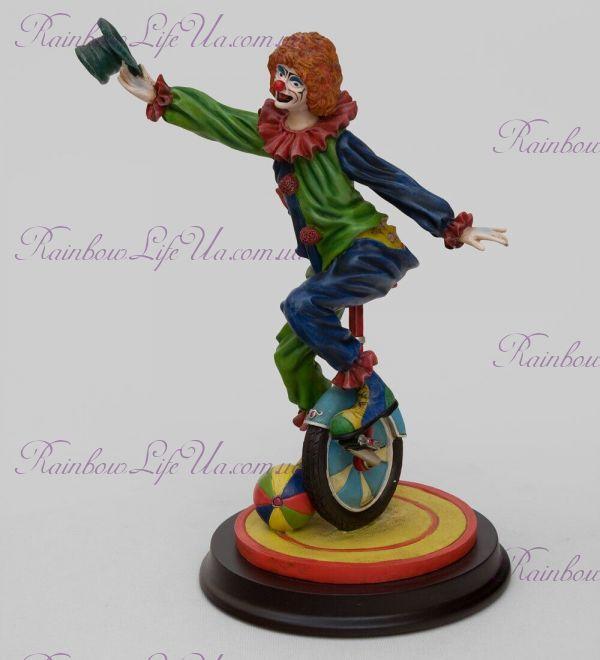 """Статуэтка Клоун на велосипеде """"Euro Artista"""""""
