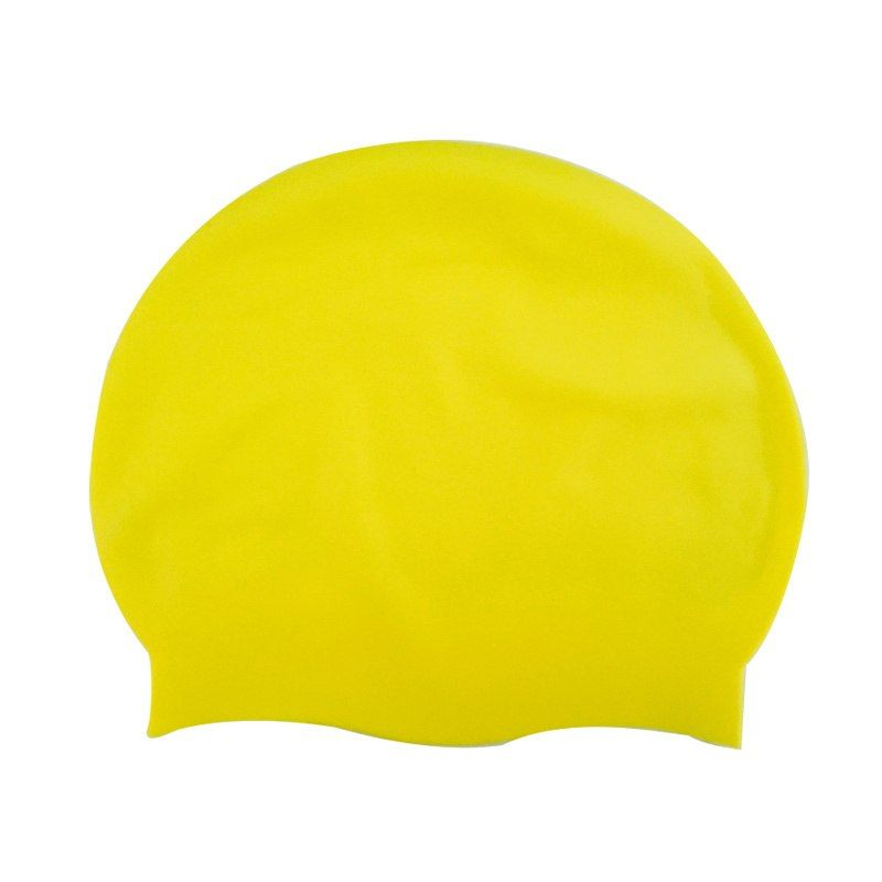 Силиконовая Шапочка Для Плавания Afiter, Цвет Желтый