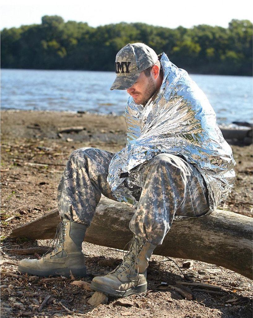 Походное Туристическое Термоодеяло Emergency Blanket