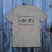 Футболка с математической формулой