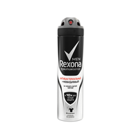 Аэрозоль Рексона 150мл Антибактериальный+Невидимый на черном и белом мужск.
