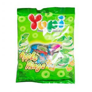 Жевательные конфеты Yupi Apple Rings 45г