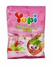 Жевательные конфеты Yupi Strawberry Kiss 45г