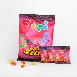 Жевательные конфеты Yupi Worms (Neon Stick) 45г