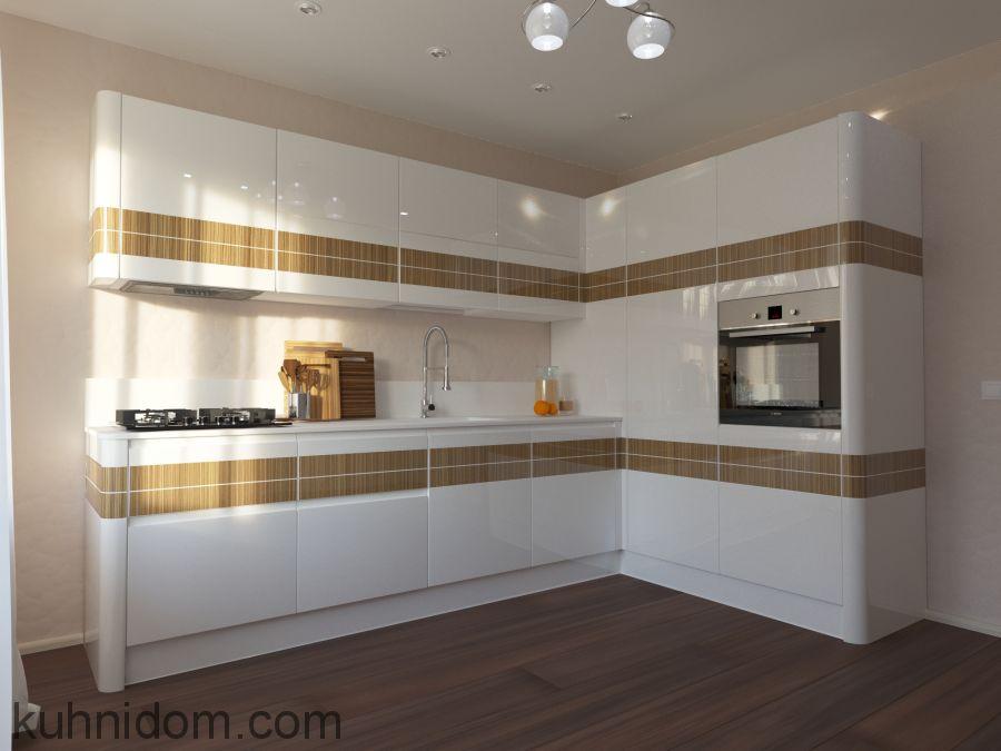 Кухня Modern-Veneer