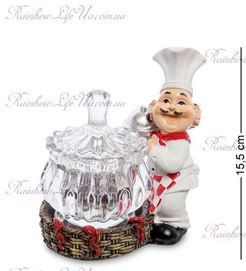 """Фигурка повар с блюдом и вазочкой """"HF"""""""