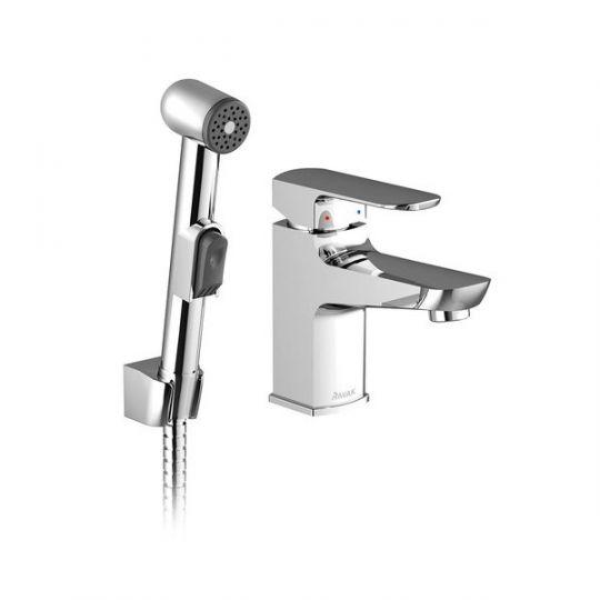 Ravak BM 011.00 смеситель для умывальника с гигиеническим душем