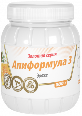 "Линия жизни апиформула-3 ""Золотая серия"" 300гр"