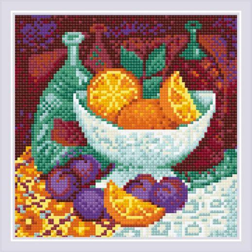 Набор для выкладывания стразами Апельсины АМ0034 фирма Риолис