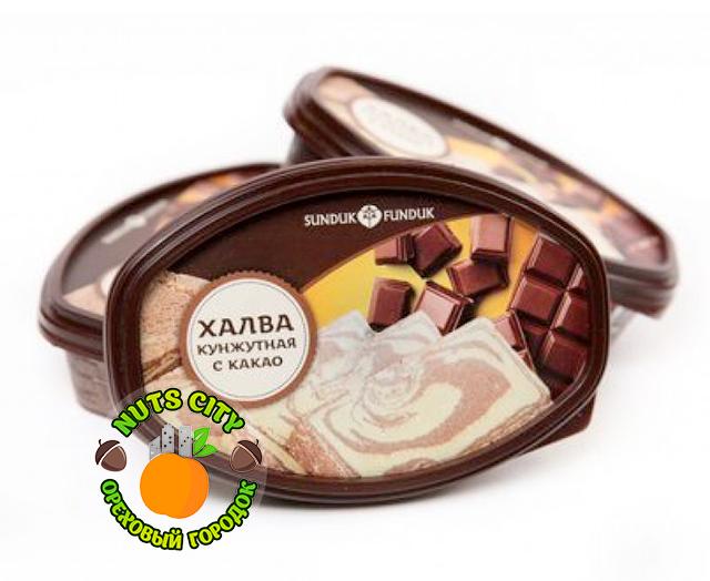 Халва кунжутная с какао 280гр