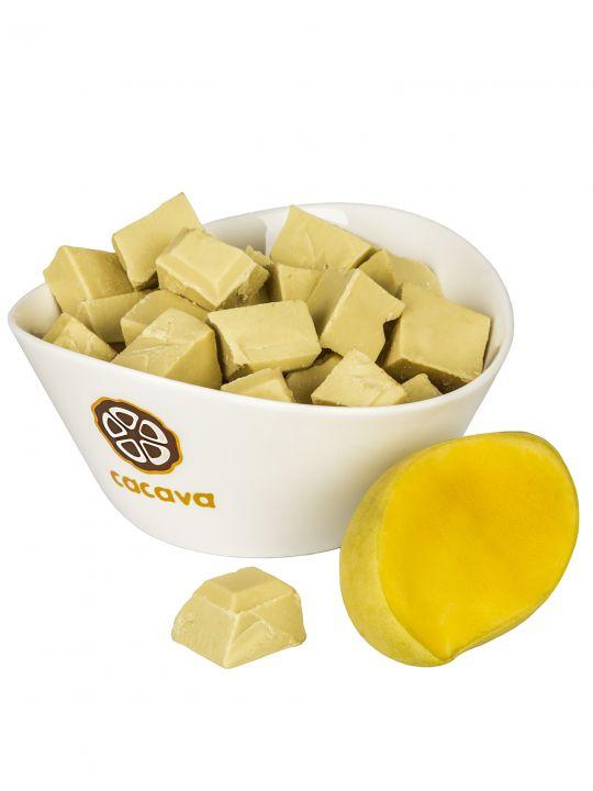 Белый шоколад с манго, 100 гр, 300 гр.