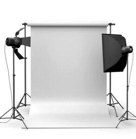Фотофон виниловый белый ширина 2.2 м