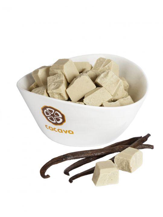 Белый шоколад с мадагаскарской ванилью, 100 гр.