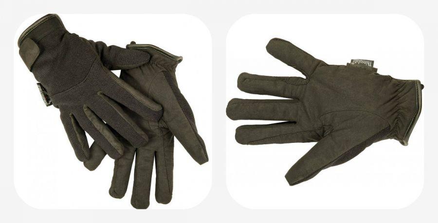 Перчатки для верховой езды - Kunstleder. HKM