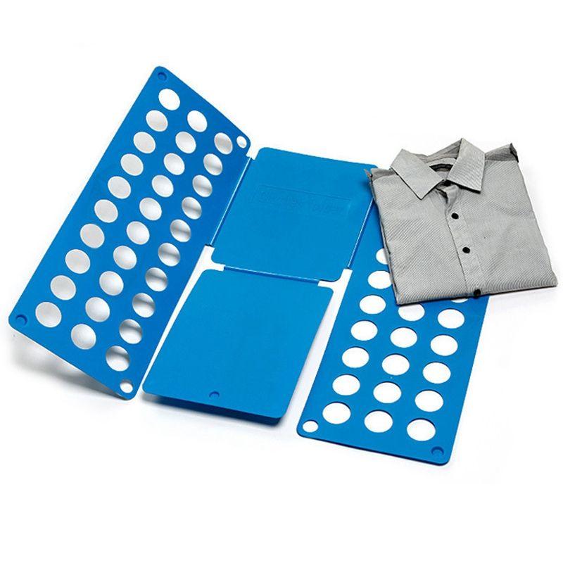Рамка Для Складывания Взрослой Одежды Clothes Folder, Цвет Синий