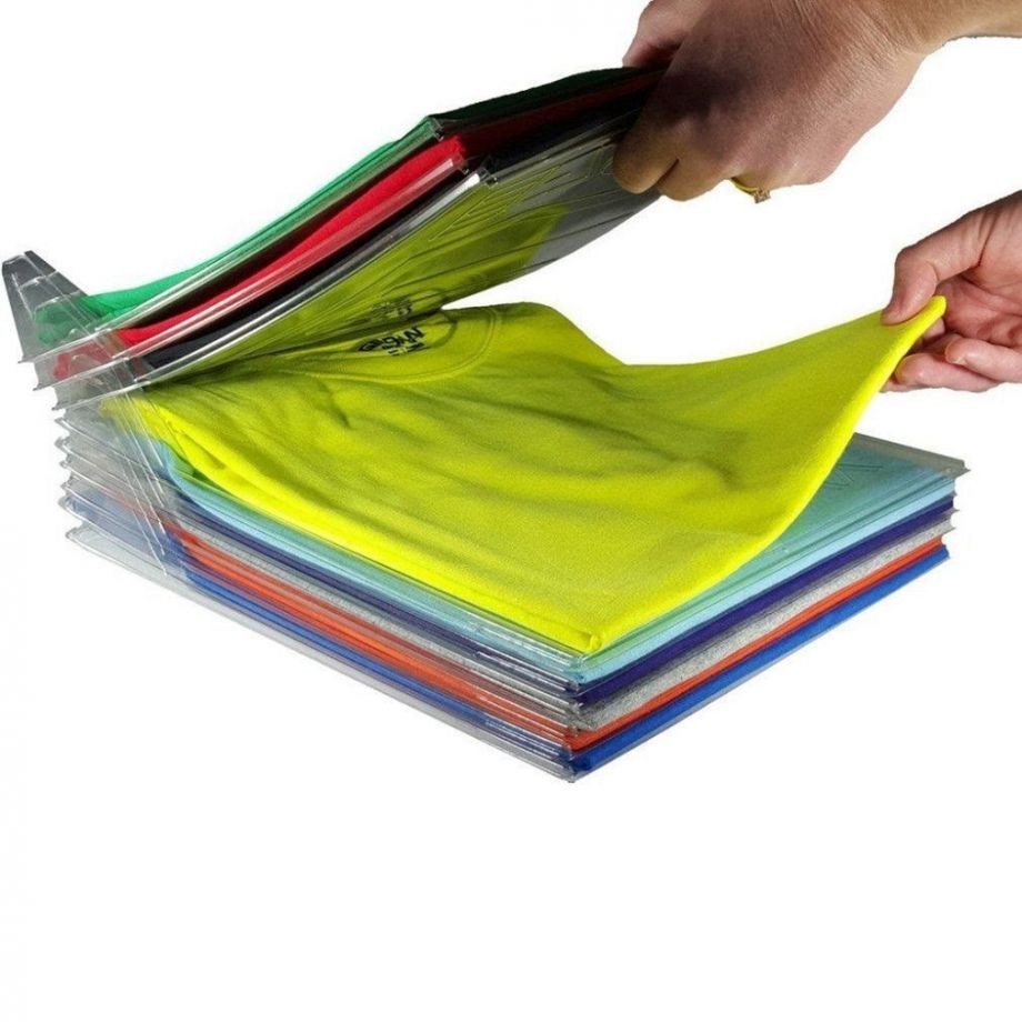 Система Хранения Одежды T-Shirt Organizing System, 10 Шт