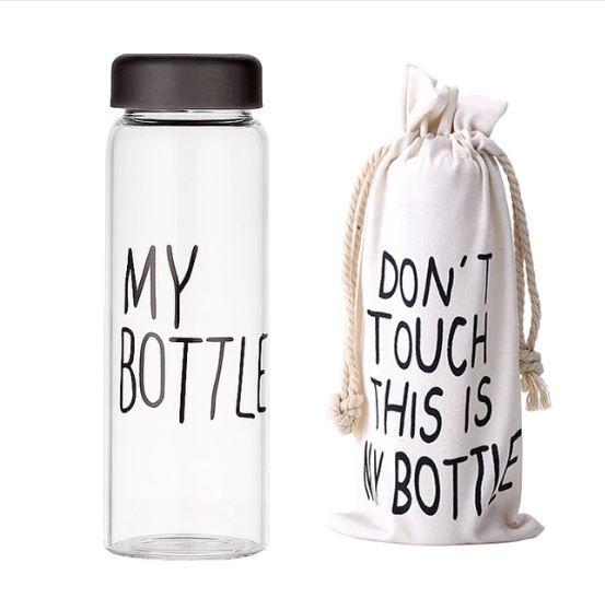 Оригинальная Бутылка My Bottle, Цвет Черный