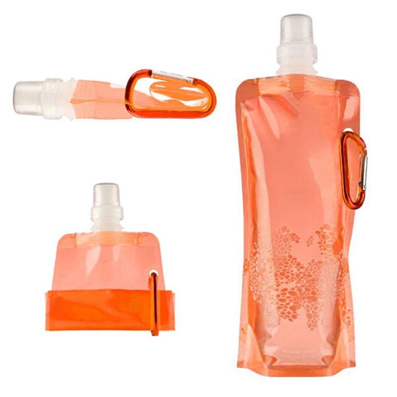 Складная Бутылка Для Воды Vapur, Цвет Оранжевый