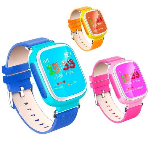 Умные детские часы Smart Baby Watch Q60S, Цвет: Оранжевый