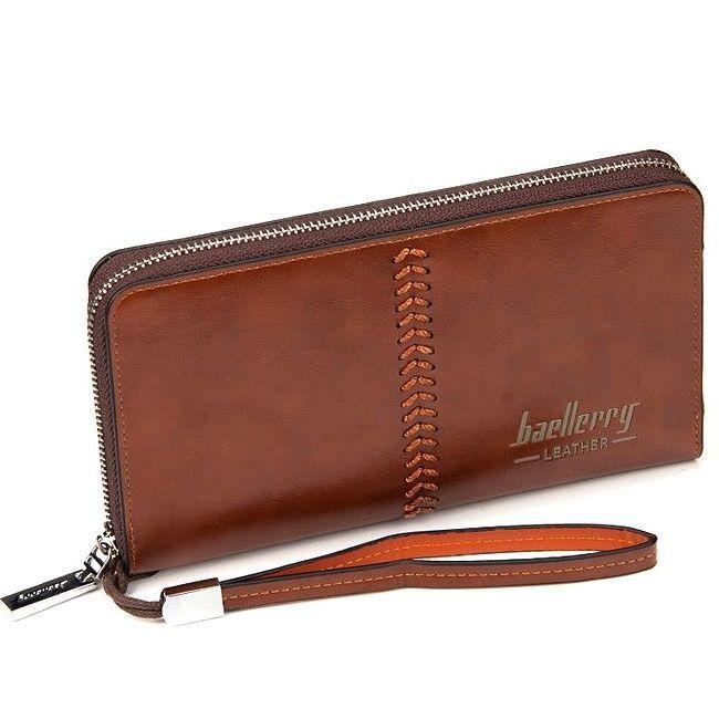Портмоне Baellerry Leather, Цвет Коричневый