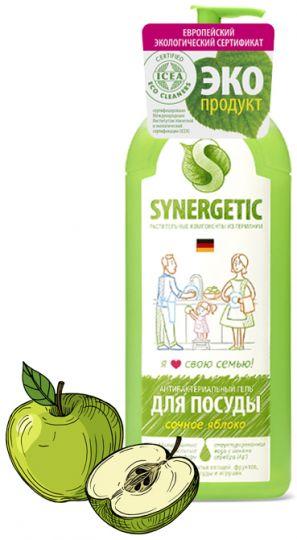Synergetic Средство для мытья посуды Сочное яблоко 1 л