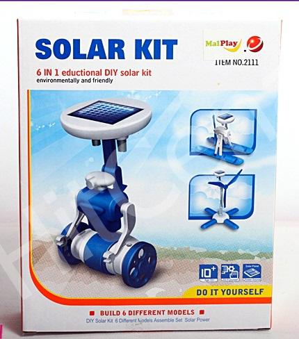 Конструктор на солнечной батарее 6 В 1 Solar Kit