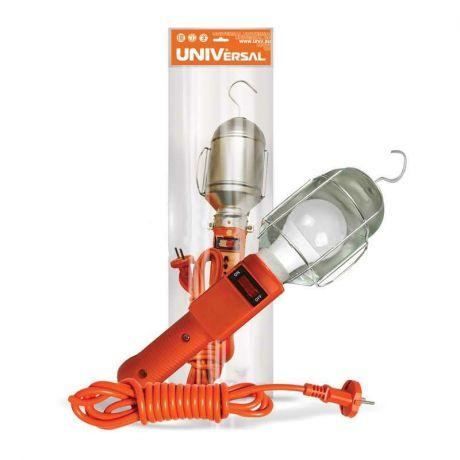 Светильник переносной ПВС 2х0.75 с выкл. 10м 220В UNIVersal 966U-0110, 60Вт