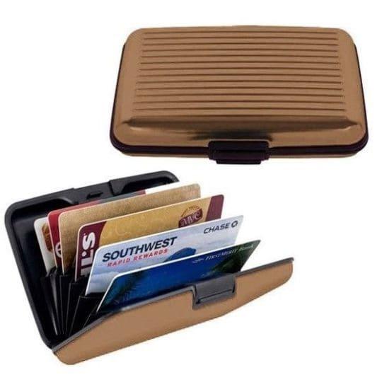 Бокс для кредитных карт Security Credit Card Wallet, коричневый