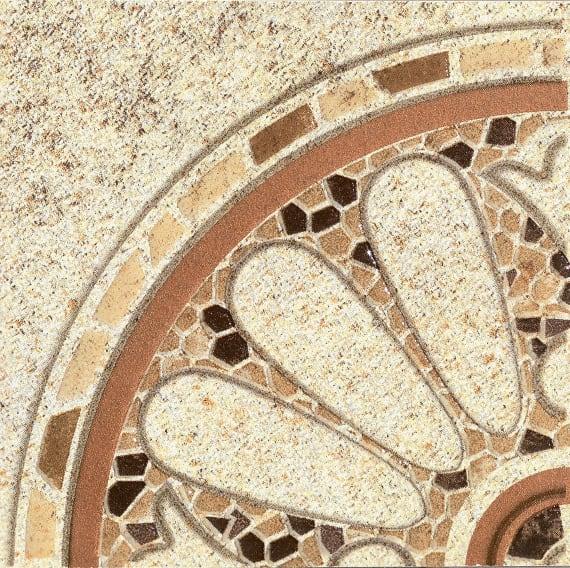 3602-0005 Вставка угловая напольная Тенерифе 14х14 бежевая