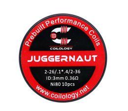 10 шт. Coilology Juggernaut Coil, набор готовых спиралей
