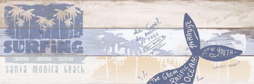 1664-0176 Настенная плитка декор Ящики 20x60
